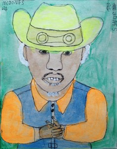 5¢ Jones self-portrait
