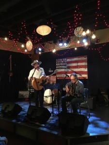 W/Grant-Lee Phillips @Family Wash, 7/4/17. Photo by Rebecca Weiner Tompkins